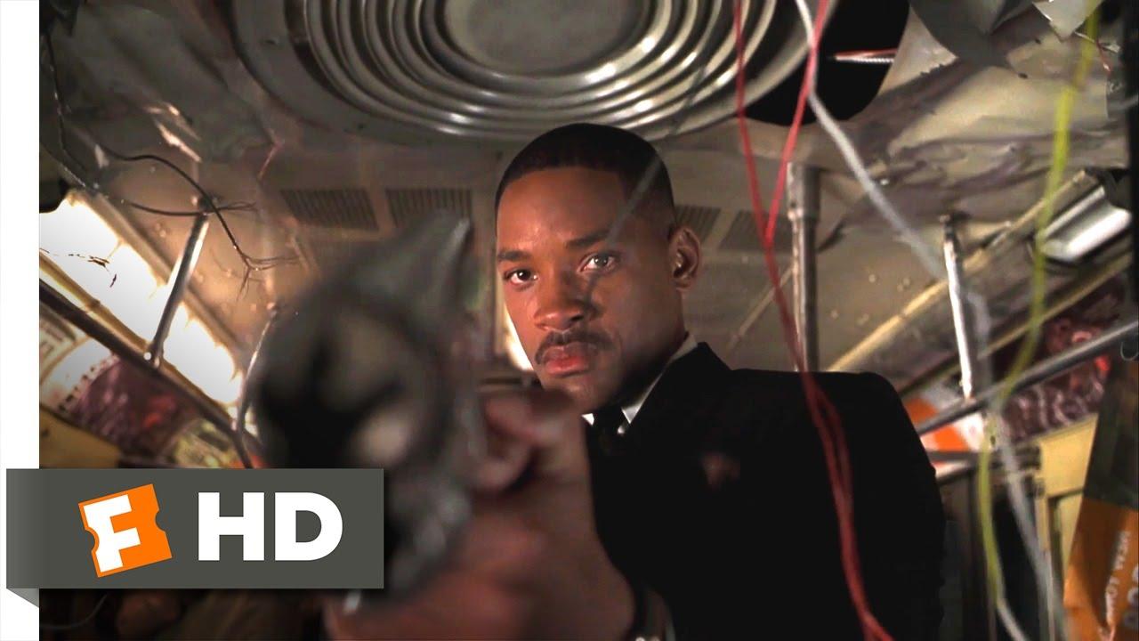 Men In Black Ii Jeff The 600 Foot Worm Scene 110 Movieclips