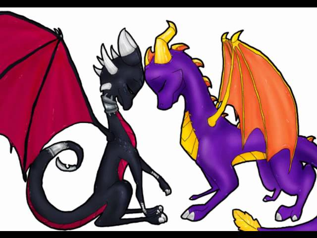 spyro and cynder-lost in you