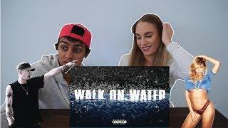 Eminem - Walk On Water (Audio) ft. Beyoncé (COUPLE REACTION)
