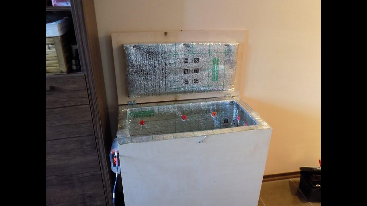 Обшивка балкона с утепленным ящиком для овощей - YouTube