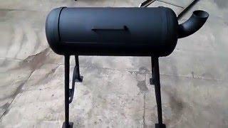 Мангал-барбекю с газового баллона своими руками. Пошаговая инструкция.(В этом видео мы рассмотрим как с обычного газового баллона можно сделать отличный мангал-барбекю. Подписыв..., 2016-01-02T04:58:31.000Z)