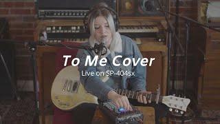 "Alina Baraz ""To Me"" Live Cover"