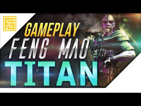 PARAGON gameplay german | TITAN Feng Mao | Lets Play Paragon deutsch PS4 PC