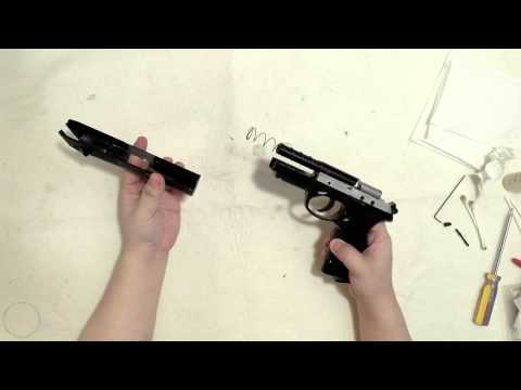 Beretta Px4 Storm .177 Cal Co2 Air Pistol Maintenance and Disassembly 2015