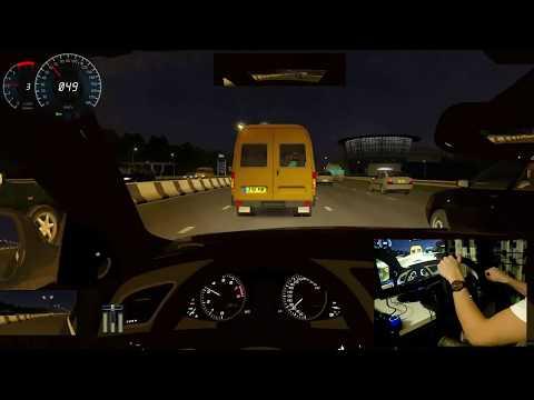 Audi S4 Crazy Driving City Car Driving | Logitech G920