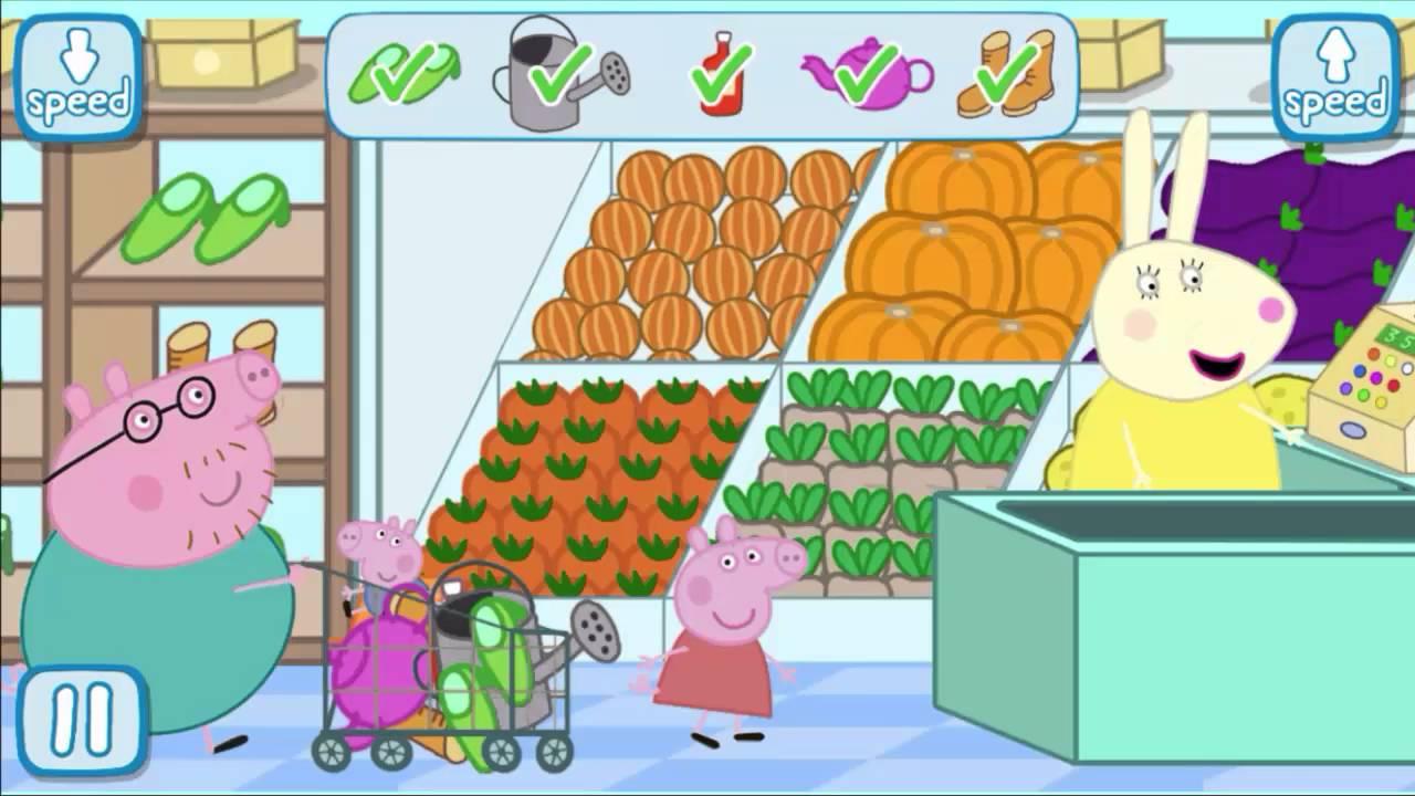 peppa pig supermarket