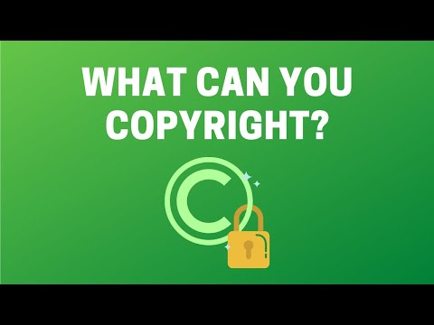 Can I Copyright That?