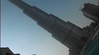 Burj Dubai highest building in the world 818 mtr