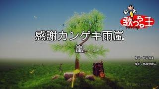 【カラオケ】感謝カンゲキ雨嵐/嵐