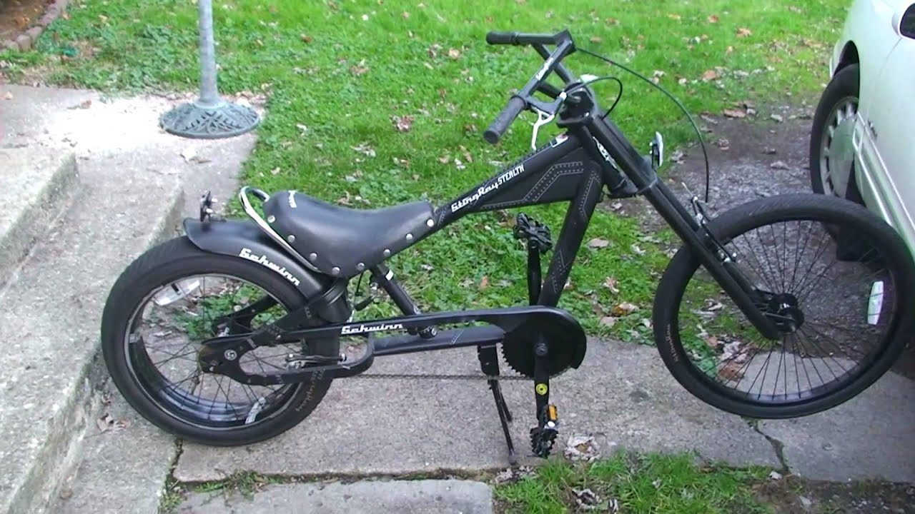 Electric Bicycles For Sale >> SCHWINN ORANGE COUNTY CHOPPERS STINGRAY BIKE. IN SONY HD - YouTube
