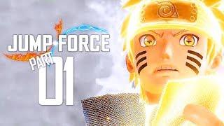 Jump Force OPEN BETA | Gameplay Walkthrough Part 1 - Testing OFFLINE Play! (PS4 PRO)