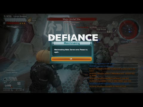 defiance matchmaking failed