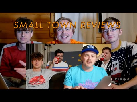 gus & sven johnson + eddy burback & friends: small town reviews
