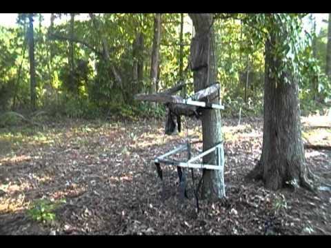 Api Grand Slam Treestand Review Amp Noise Improvment Youtube