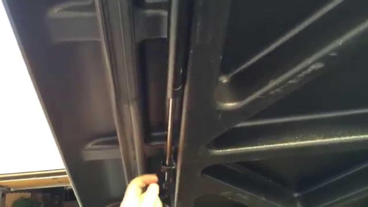 How To Replace An Undercover Tonneau Pneumatic Gas Strut Arm Youtube