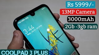 CoolPad cool 3 Plus 3Gb ram Unboxing and quick review 🥶