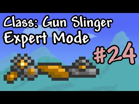 Expert Mode Terraria || Gun Slinger: Clockwork || Episode 24