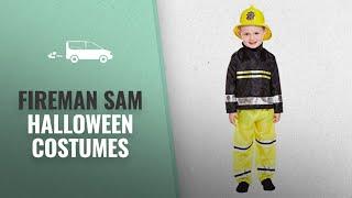 Top 10 Fireman Sam Halloween Costumes [2018 Best Sellers]: Henbrandt BOY'S GIRL'S TODDLER FIREMAN