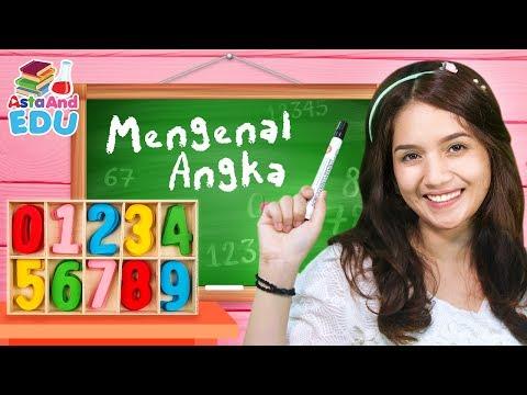 MENGENAL ANGKA Part 1| Edukasi belajar! - Asta And EDU