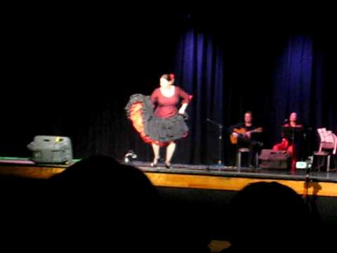 La Sole Flamenco - 6th Annual World Music & Dance Show  - Little Diva Performance