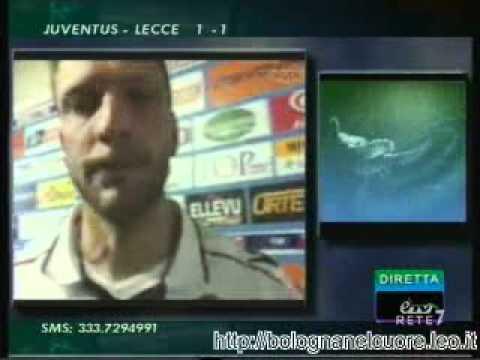 Bologna FC 1909 02/05/2012 Catania – Bologna 0-1 Agliardi nel dopopartita