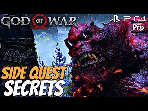 GOD OF WAR 4 - Ivaldi's Workshop & Side Quests Walkthrough