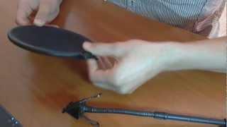 урок 1.Поп-фильтр и микрофон своими руками HD!