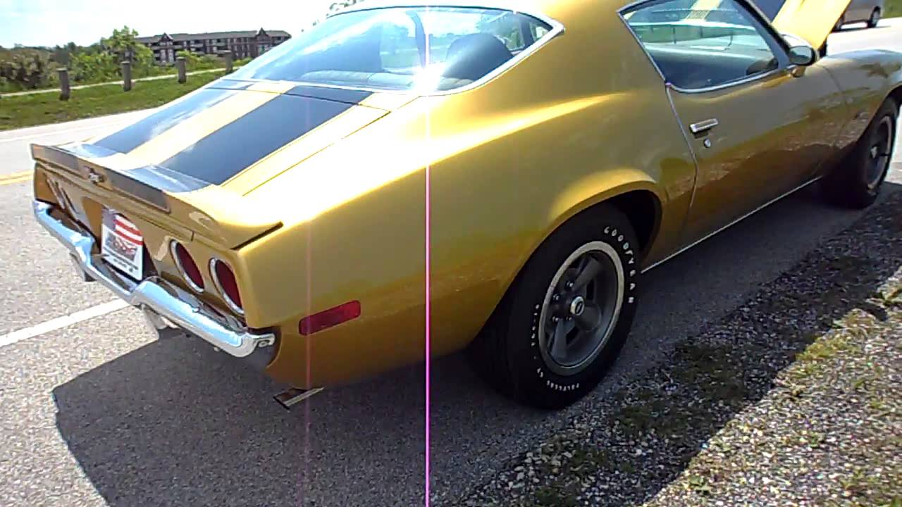 1971 Camaro Z28 For Sale Youtube