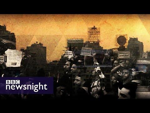 Crushing dissent in Egypt - BBC Newsnight