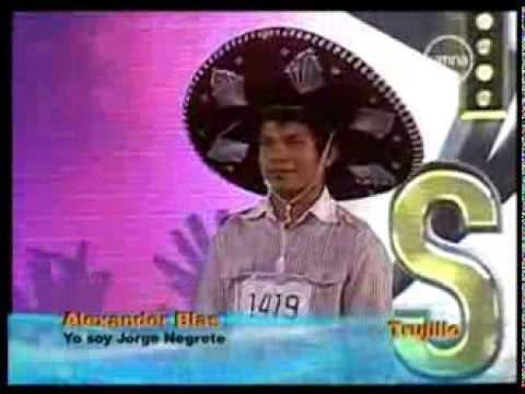 Yo soy JORGE NEGRETE 20-08-2012 peru - CASTING Tercera Temporada- Yo soy 20 agosto yo soy peru