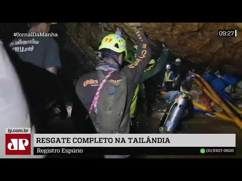 Todos Os Garotos E Treinador São Resgatados De Caverna Na Tailândia