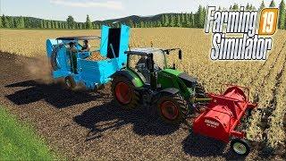 МУЖИЧКИ НА УБОРКЕ КАРТОФЕЛЯ. Farming Simulator 19