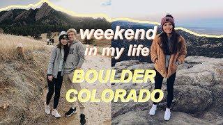 weekend in my life: boulder, colorado!
