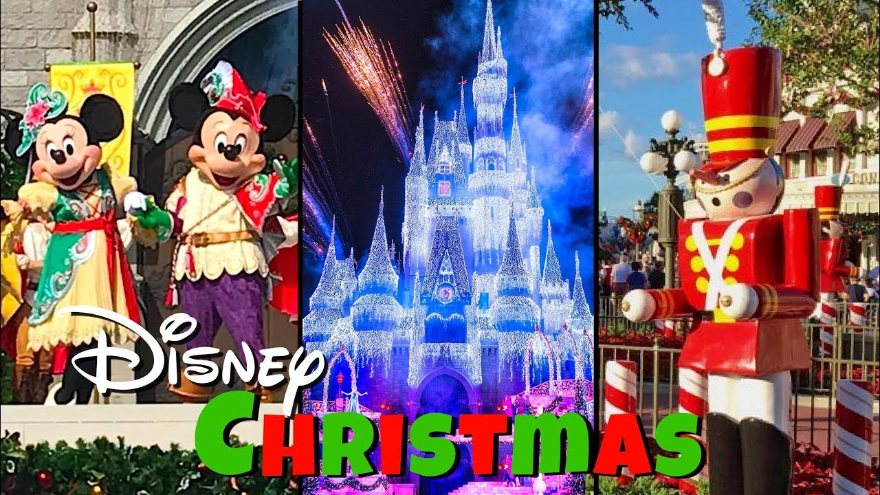 Christmas At Disney World S Magic Kingdom Top 5 Christmas Things To Do