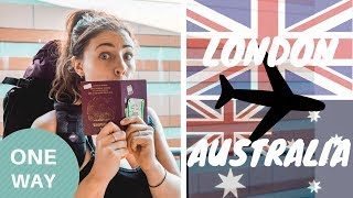 One of Backpacking Bananas's most viewed videos: London to Australia ONE WAY - Here we go again [travel vlog]