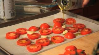Olive Oil-Poached Fresh Cod With Roasted Tomato Sauce : Diverse Dishes