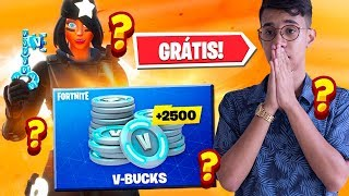 How to win free V-bucks every day at Fortnite...