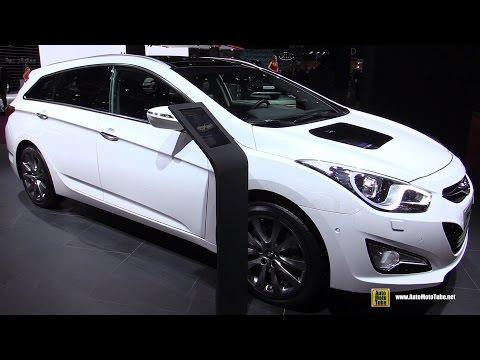 2015 Hyundai i40 Sport Wagon 48V Hybrid Exterior and Interior Walkaround 2014 Paris Auto Show