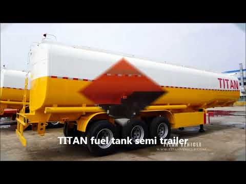 distribution fuel tanker trailer/heavy fuel oil truck tanker