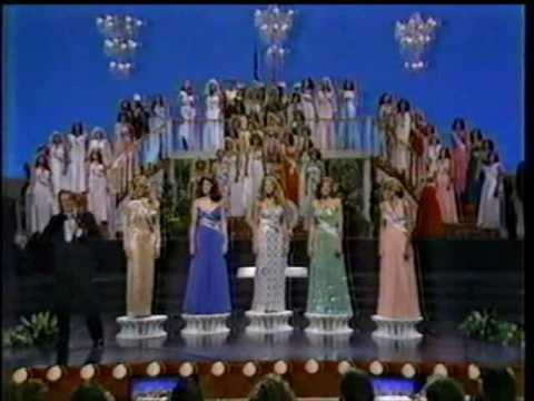 Miss USA 1980  Crowning Moment