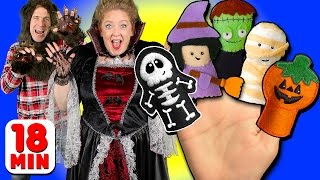 Halloween Finger Family & More Finger Family Songs | Daddy Finger Collection