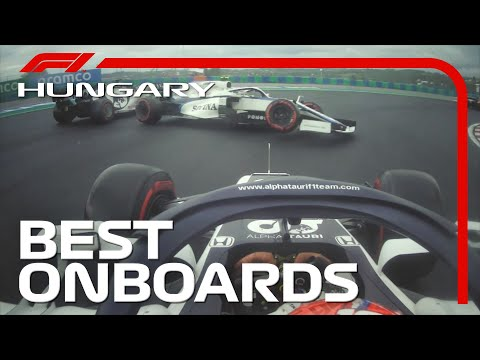 Epic Duels, Dazzling Overtakes And The Top 10 Onboards | 2020 Hungarian Grand Prix | Emirates