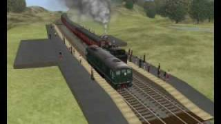 """My trainz Classics route """"Country side"""""""