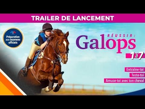 Réussir : Galops 1 à 7 l Trailer de lancement FR l Microids & Smart Tale Games