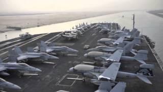 USS Nimitz Suez Canal Transit
