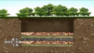 豬糞發酵製作有機肥土坑篇.wmv