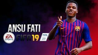 How To Create Ansu Fati In Fifa 19