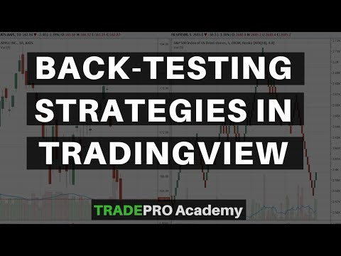 How to back-test your strategy on Trading View  - YouTube