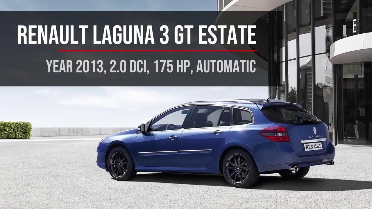 0 100 Km H Acceleration Renault Laguna 3 Gt Estate 2 0 Dci 175 Hp Automatic Bva Youtube