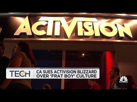 """Video game maker Activision sued over """"frat boy"""" work culture that ..."""